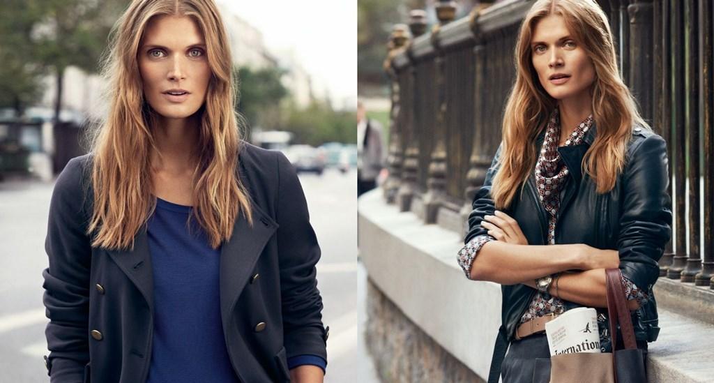T-Shirts aus Seide oder Viskose und Trenchcoat (oder auch eine schicke Lederjacke) sind für Frauen eine tolle Alternative zu Bluse und Blazer.