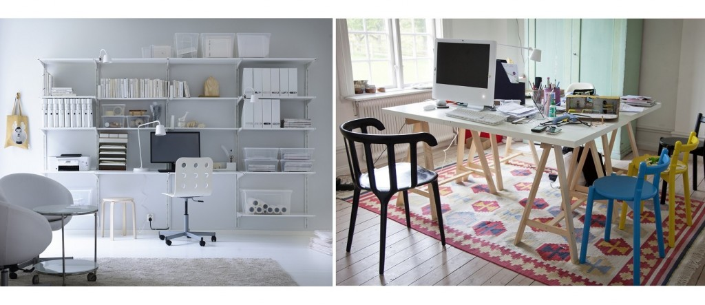 Von Dänemark nach Schweden: Ikea zeigt, dass Homeoffice nicht gleich Homeoffice ist. Je unterschiedlicher die Arbeit, desto unterschiedlicher das Bürodesign.