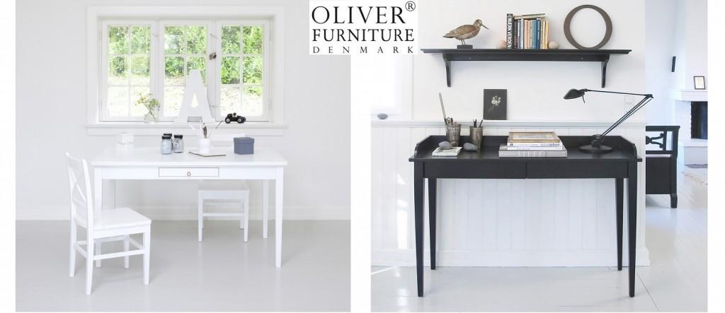 Eleganter Konsolentisch mit zwei Schubladen. Perfekt für alle, denen ein kleinerer Schreibtisch ausreicht.