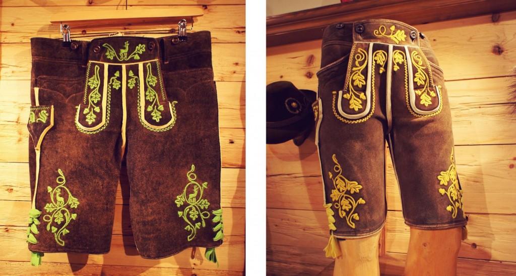 Je nach Region unterscheiden sich die Hosen in Schnitt, Stickerei und Farbe.