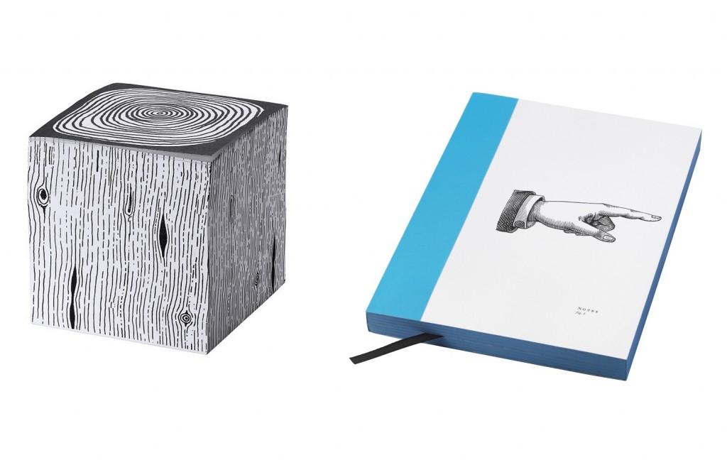 Zettelblock in Holzoptik und ein Notizbuch, das zeigt, wo es lang geht.