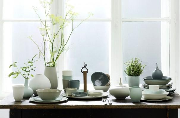 Porzellan in den unterschiedlichsten Formen und Farbe.