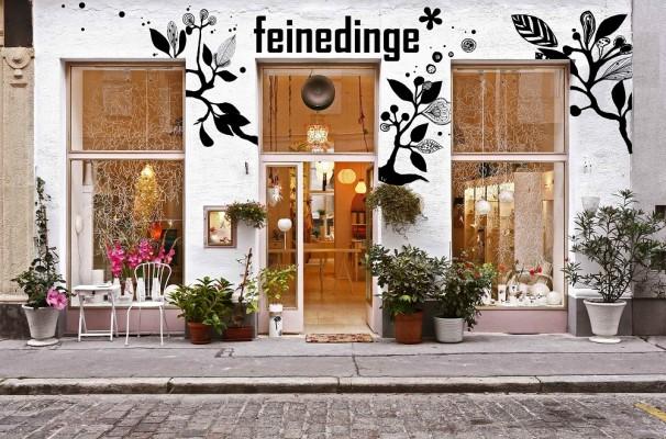 Im hippen 5. Bezirk in Wien verkauft Sandra Haischberger ihre feinen Dinge.