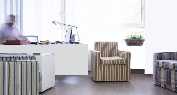 Büros, die Erkrankten keine Angst machen, sondern Mut und Wohlfühlatmosphäre schaffen.