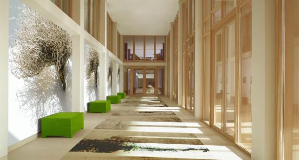 Dieses Beispiel zeigt: Die farbliche Gestaltung eines Raumes ...